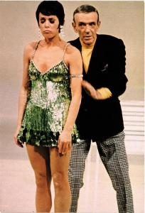 CPM AK Fred Astaire and Juliet Prowse, FILM STAR (717594)