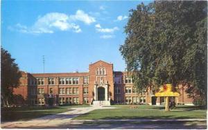 High School, Ironwood, Michigan, MI, Chrome