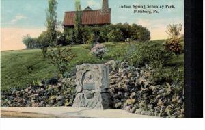 PITTSBURG, Pennsylvania; Indian Spring Schenley Park, 00-10s