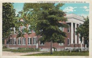 DOUGLAS , Georgia , 1929 ; Scene at Georgia Normal Business College