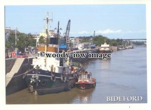 cd0259 - UK Tug - Ionia at Bideford , Devon - postcard