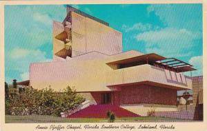 Florida Lakeland Annie Pfeiffer Chapel Florida Southern College