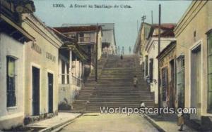 Cuba, Republica De Cuba Santiago de Cuba Street