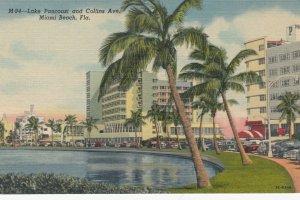 MIAMI BEACH , Florida , 1930-40s ; Hotels , Lake Pancoast & Collins Avenue