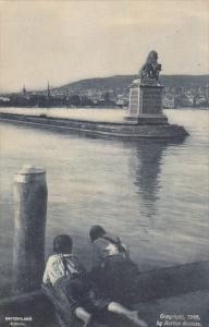 Switzerland Zurich Harbour Scene