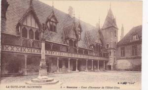 Cour d'Honneur De l'Hotel-Dieu, Beaune (Cote d'Or), France, 1900-1910s