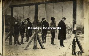 ukraine russia, KOVEL, Hanging Peasants Bolsheviks (1917) Russian Revolution