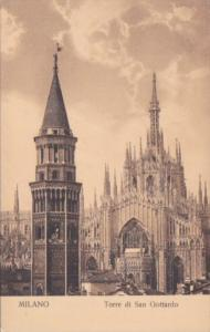 Italy Milano Torre di San Gottardo