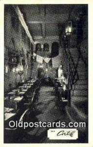 The Cortile Restaurant, New York City, NYC Postcard Post Card USA Old Vintage...