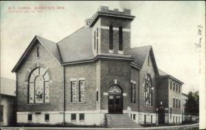 Quaker City OH ME Church c1910 Postcard rpx