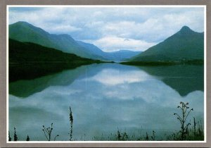 Scotland Argyll Loch Leven Reflections and The Pap Of Glencoe