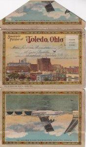 TOLEDO, Ohio, 1900-1910s; Folder Postcard