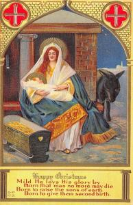Christmas Nativity~Mother Child~Born to Raise Sons of Earth~2nd Birth~Nash C-47