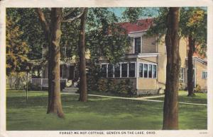 GENEVA ON THE LAKE, Ohio, PU-1925; Forget Me Not Cottage