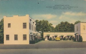 NORTH LITTLE ROCK , Arkansas, 30-40s; Downtown Motel