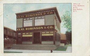 EAST BUFFALO , New York, 1908 ; Office of Clay. Robinson & Co.