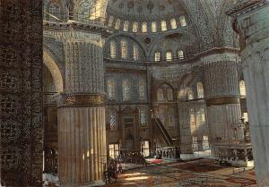 Turkey Istanbul Interior fo the Blue Mosque