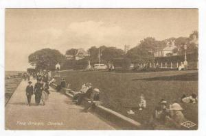 Sidewalk, The Green, Cowes, Isle Of Wight (England), UK, 1900-1910s