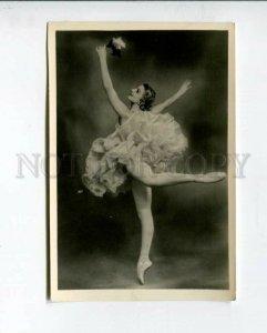 3102932 DUDINSKAYA Russia BALLET Star DANCER RAYMONDE old PHOTO