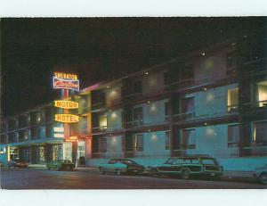 Unused Pre-1980 OLD CARS & SHERATON CARLTON MOTEL IN WINNIPEG MB CANADA s6230