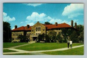 Oberlin OH-Ohio, Oberlin College, Wilder Hall, College, Chrome Postcard