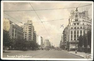 romania, BUCHAREST BUCURESTI, B-Dul Bratianu 1937 RPPC
