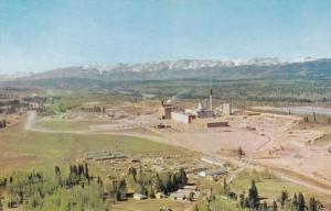 North Western Pulp and Power Ltd. Mill, HINTON, Alberta, Canada, 40-60´