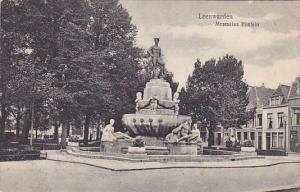 LEEUWARDEN, Friesland, Netherlands, 1900-1910's; Mercurius Fontein