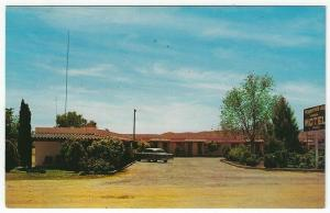 Benson, Arizona, Early View of Mountain Air Motel