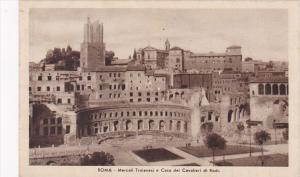 Italy Rome Mercati Traianesi e Casa dei Cavalieri di Rodi 1935
