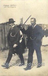 Kaiser Wilhelm Misc. Royalty & Leaders Unused