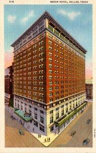 Texas Dallas Baker Hotel Curteich