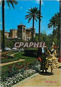 Postcard Modern Sevilla instead of america