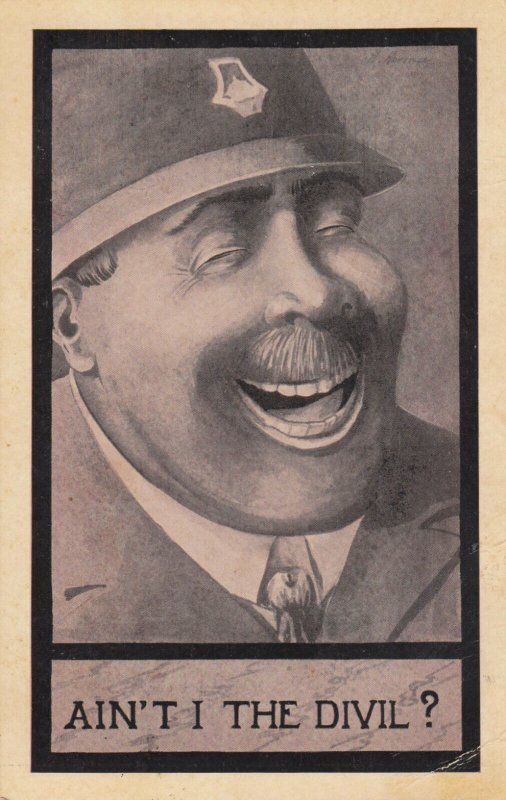POLICE-man; AIN'T I THE DIVIL? , 1912
