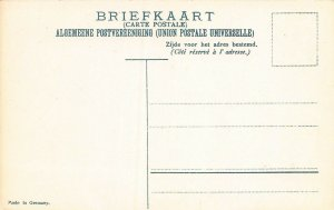 Netherlands Indies Stamps on Early Postcard, Unused, Published by Ottmar Zieher