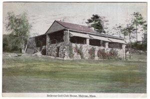 Melrose, Mass, Bellevue Golf Club House