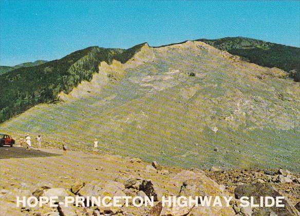 Canada Hope Princeton Highway Slide Vernon British Columbia