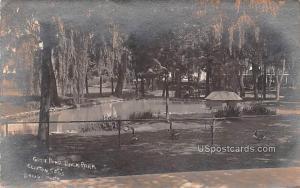 Goose Pond Back Park Clifton Springs NY 1910