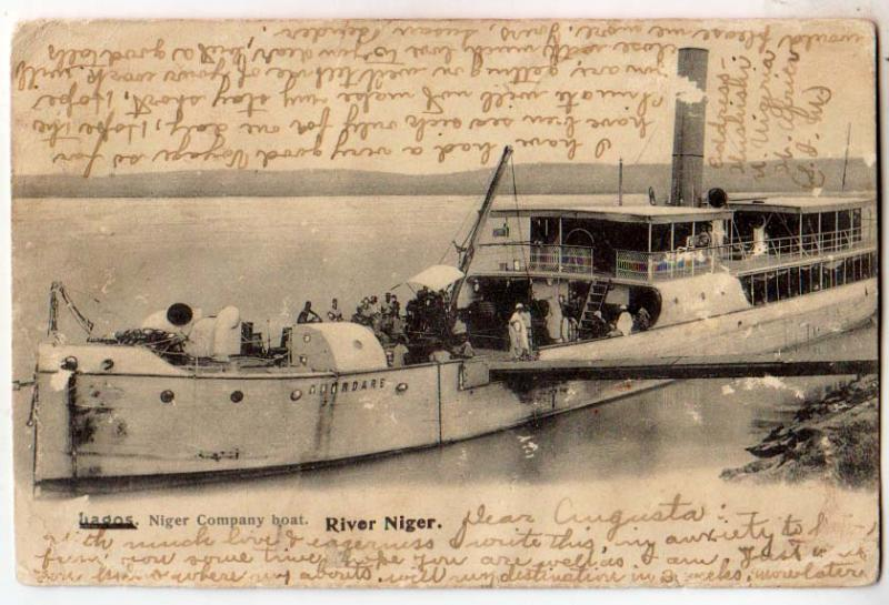 Niger Co Boat, Niger River