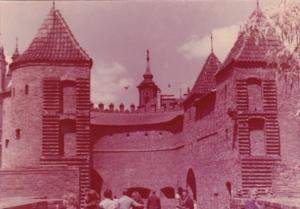 Poland Warszawa Barbakan