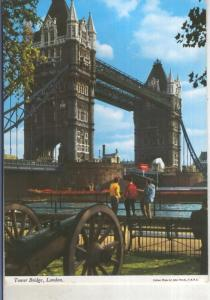 Postal 015262: Tower Bridge de London, Inglaterra