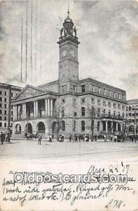 Court House Vintage Postcard Canton, OH, USA Vintage Postcard Court House