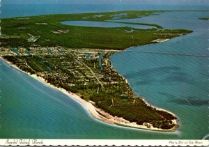 Florida Sanibel Island Aerial View 1974