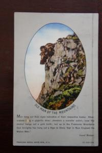 Old Man of the Mountains -Fraconia Notch White Mountains New Hampshire-C.Bodwell