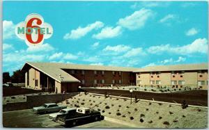 Idaho Falls, Idaho Postcard MOTEL 6 at 1448 West Broadway c1960s Unused
