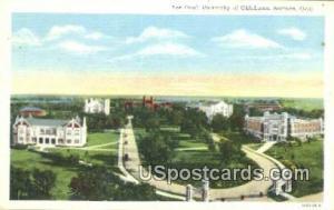 The Oval, University of Oklahoma Norman OK Unused