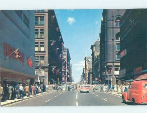 Pre-1980 STREET SCENE Toronto Ontario ON W1710