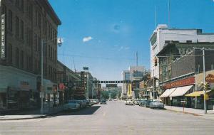 BILLINGS , Montana , 50-60s ; North on Broadway