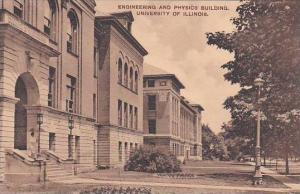 Illinois Champaign Engineering And Physics Building University Of Illinois Al...
