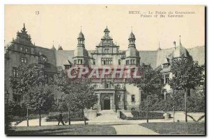CARTE Postal Metz The Old Governor's Palace